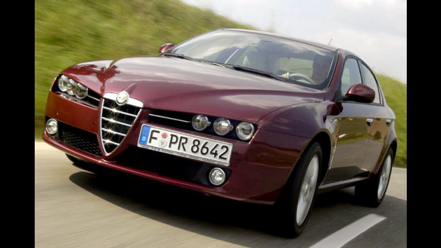 Alfa 159: Mehr Ausstattung und Änderungen im Detail
