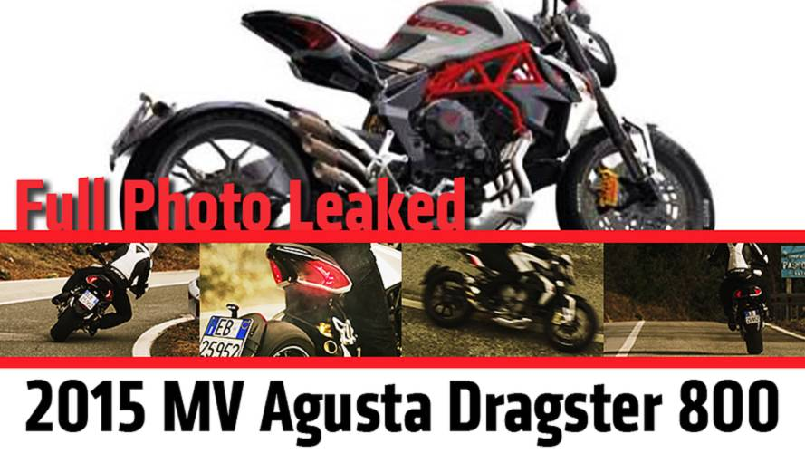 Full Photo Leaked: 2015 MV Agusta Dragster 800