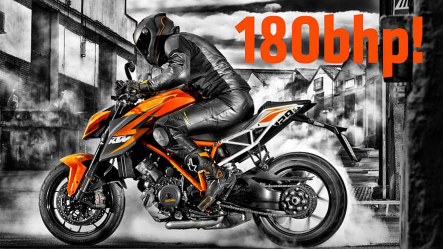 World Exclusive:  First Official 2014 KTM 1290 Super Duke R Photos and Specs
