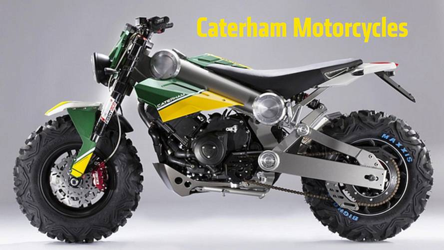 2013 EICMA: Caterham Launches Three New Motorcycle Concepts