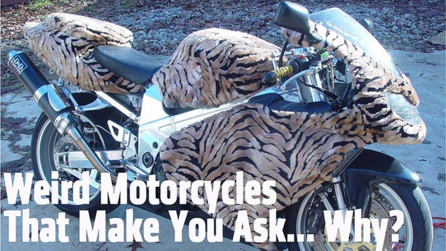 Weird Motorcycles That Make You Ask... Why?