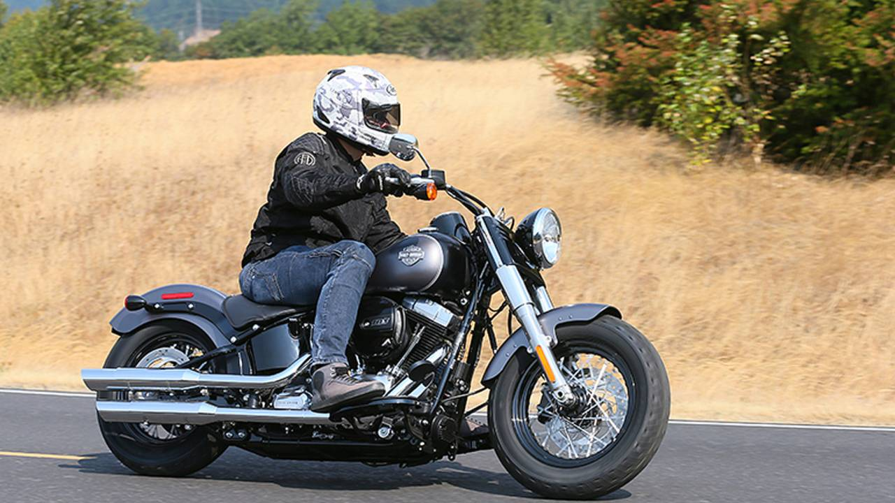 Harley's Fastest Softails Ever - We Ride the 2016 Harley-Davidson Softail Slim S and Fat Boy S