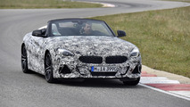 Nuova BMW Z4 foto collaudi in Francia
