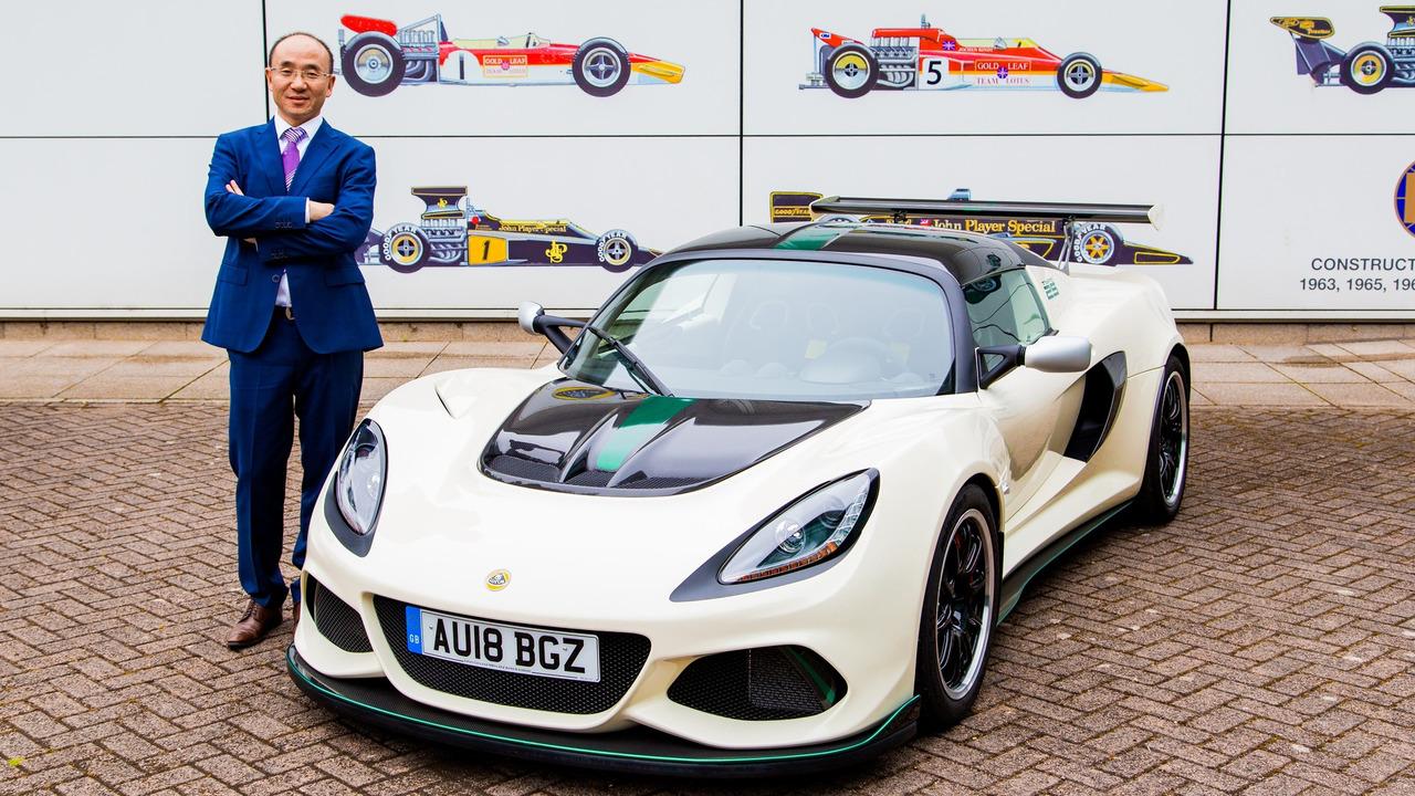 Lotus nouveau patron