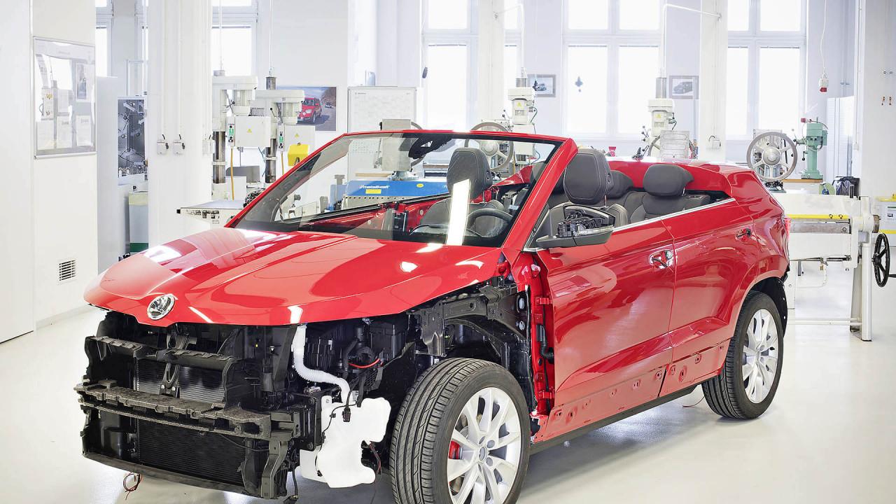 Skoda Sunroq - SUV Conversível