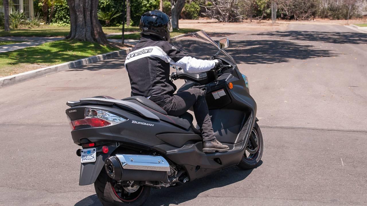 Rideapart Review Suzuki Burgman 400 Abs 2008 Problems