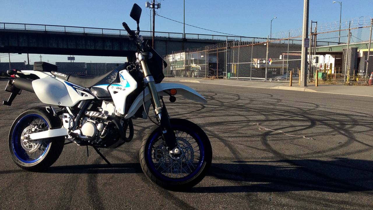 RideApart Review: 2013 DR-Z400SM