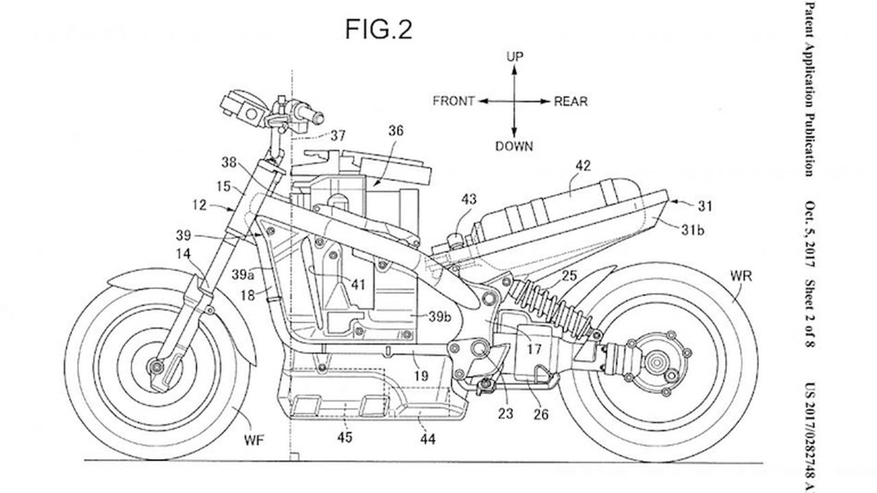 Fuel Cells Diagram Standard Cell Honda Patents Motorcycle
