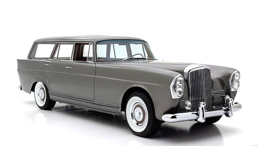 ¿Mercedes-Benz o Bentley? Este familiar de 1960 tiene parte de ambos