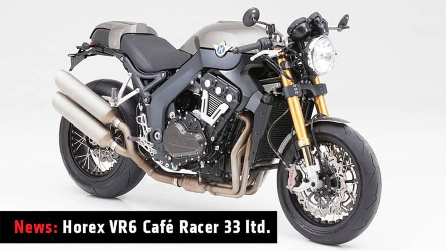 News: Horex VR6 Café Racer 33 Limited