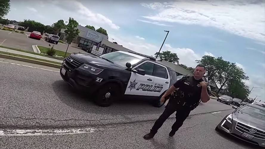 Rider Arrested After Posting Video of Chase