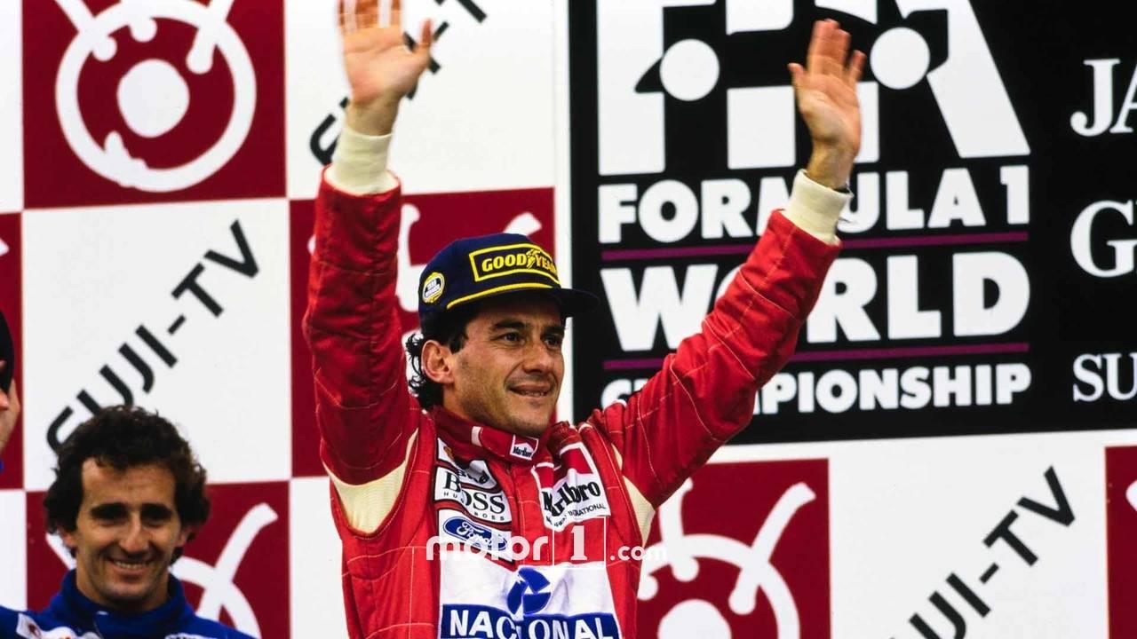 Ayrton Senna lead