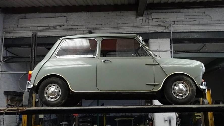Une Mini 1967 d'origine retrouvée après 35 ans, et prête pour enchères