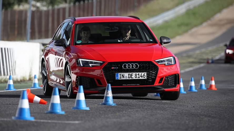 Curso Audi sportscar driving experience 2018