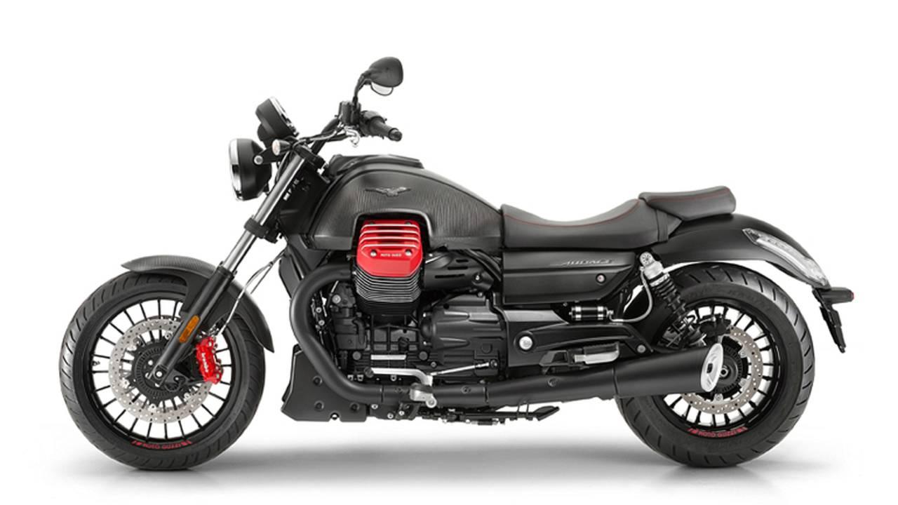 Awesome 2017 Moto Guzzi Audace Carbon
