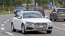 2019 Audi A4 Hafif Kamuflajlı Görüntüleri