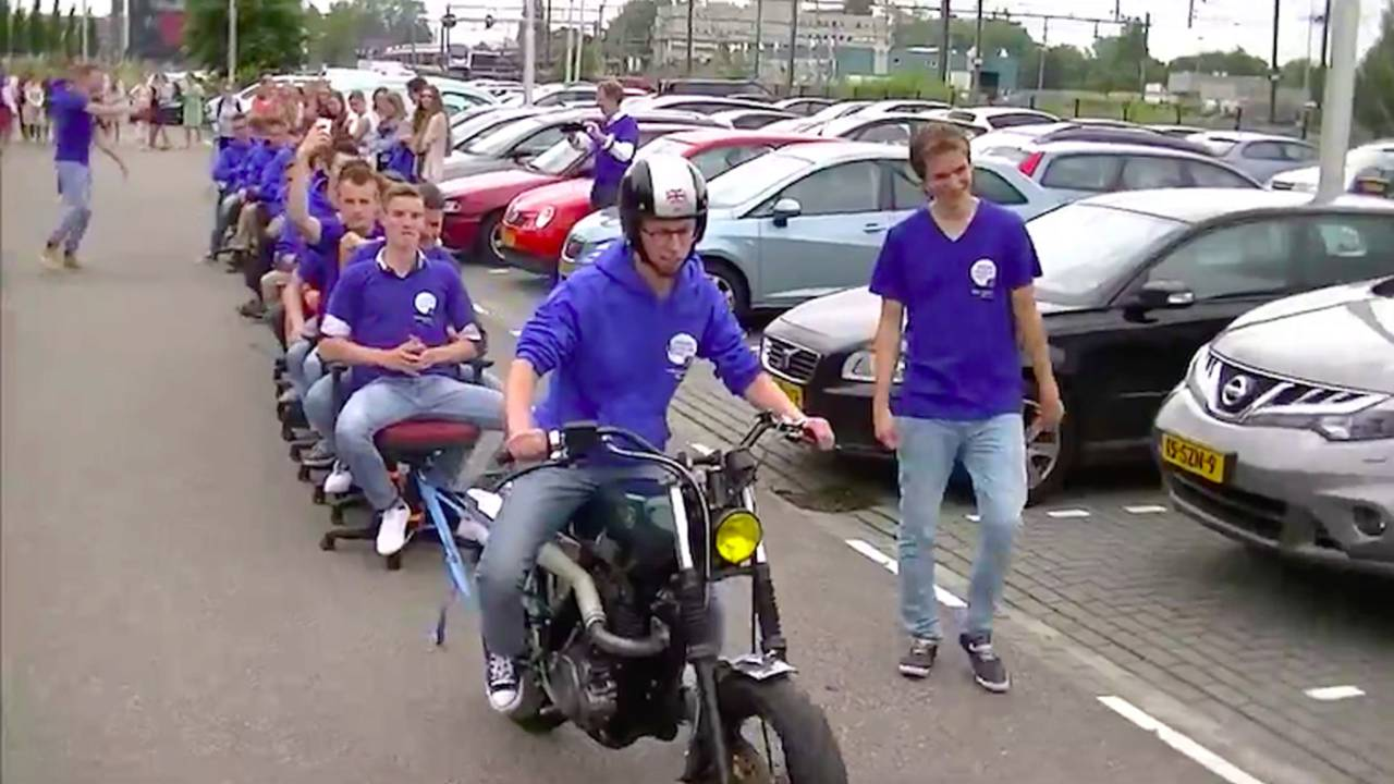 motorcycle related pics  10 Weird Motorcycle (Related) World Records