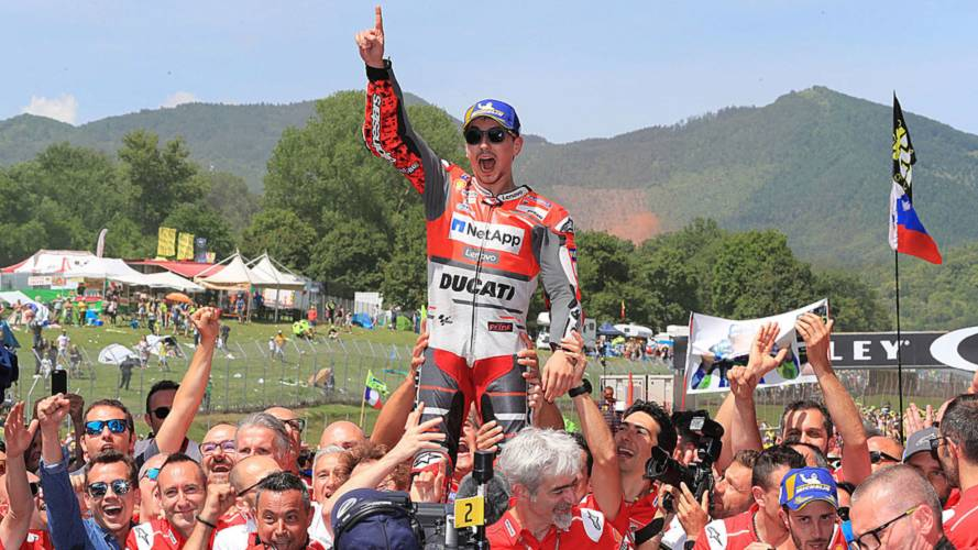 Italian GP Results: Lorenzo's Ducati Win, Marquez Crashes