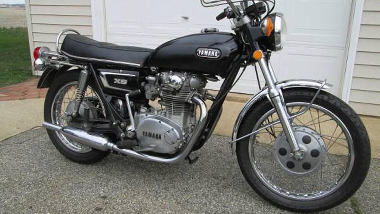 Look at this mint Yamaha XS1.