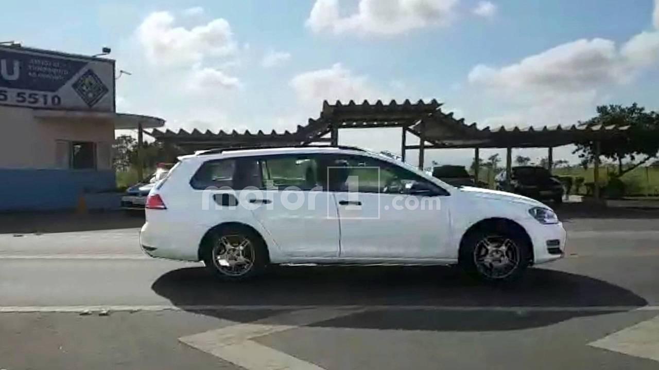 Volkswagen Tarek - Mula de testes