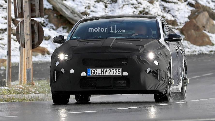 Kia Proceed GT photos espion