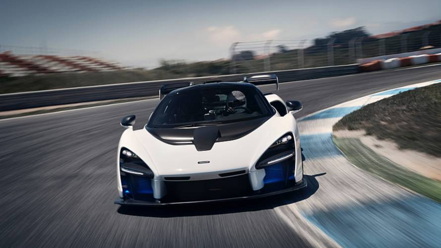 McLaren Senna listed for sale
