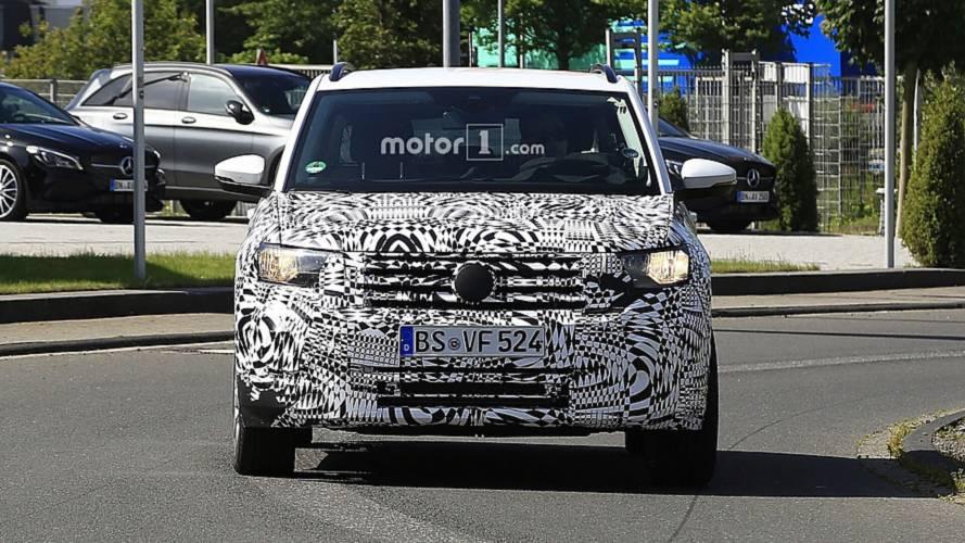Volkswagen T-Cross 2018, nuevas fotos espía