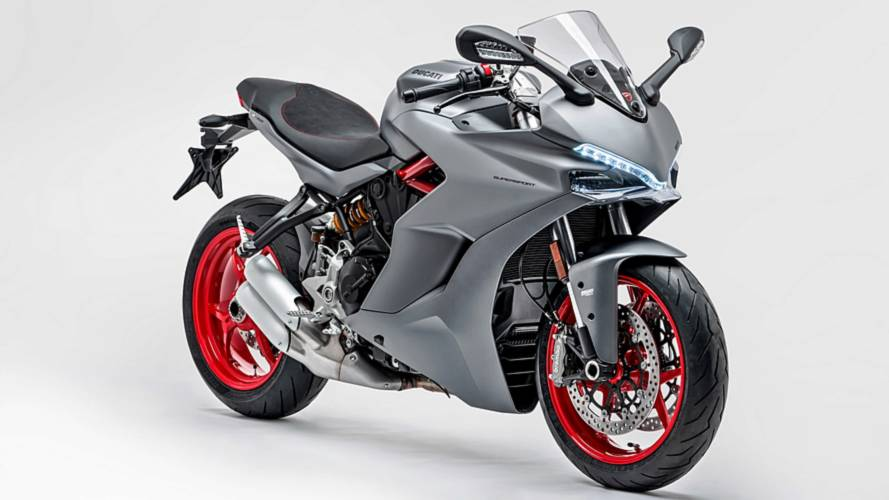Ducati SuperSport gris titanio
