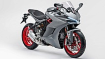 Ducati SuperSport gris titanio