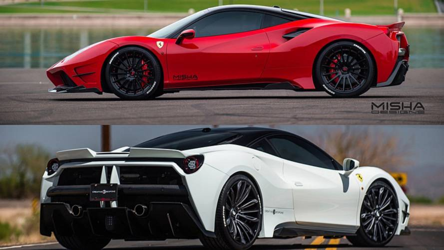 Ferrari 488 GTB Duo Gets The Widebody Treatment