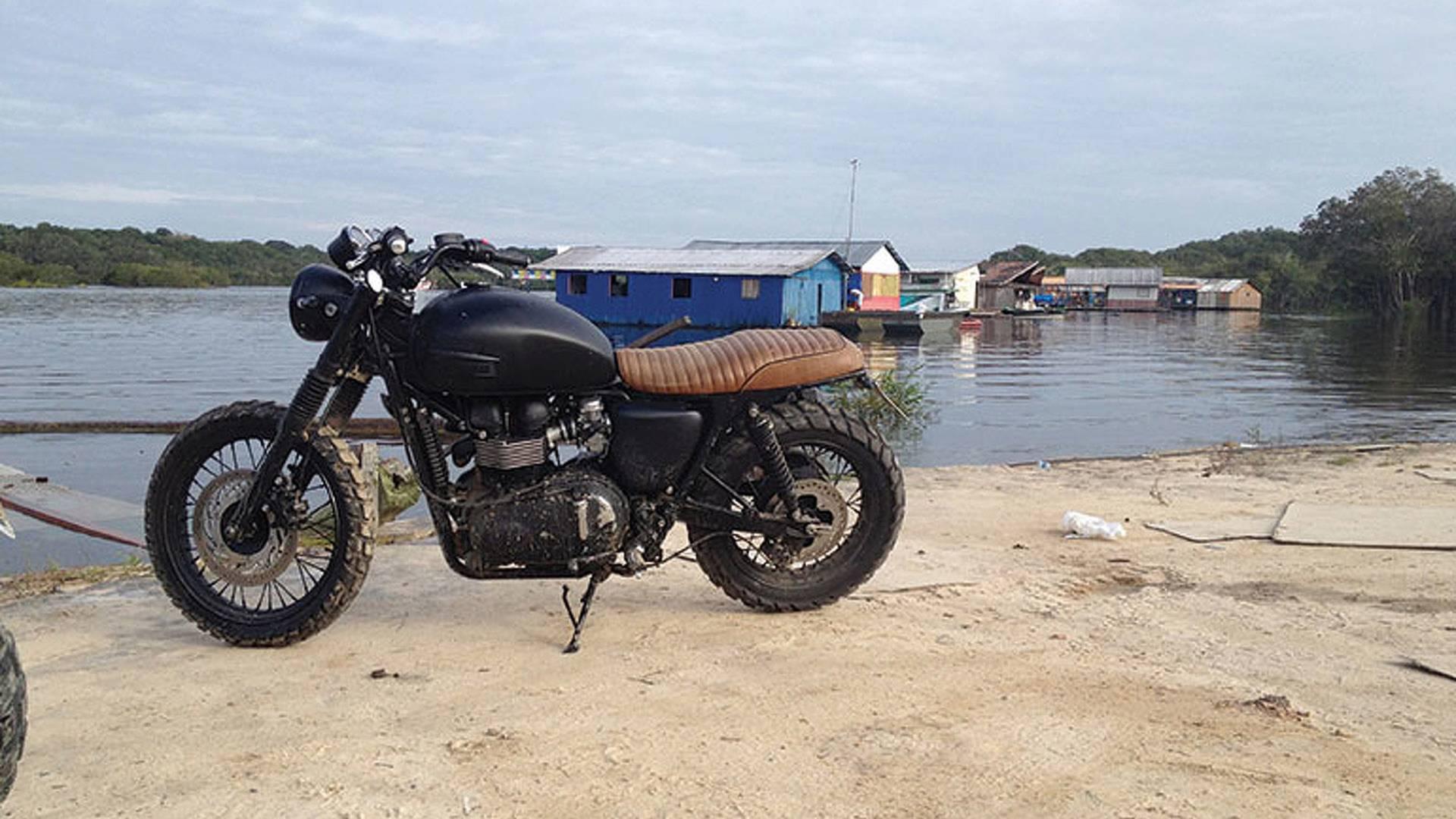 David Beckhams Triumph Bonneville Explores The Amazon