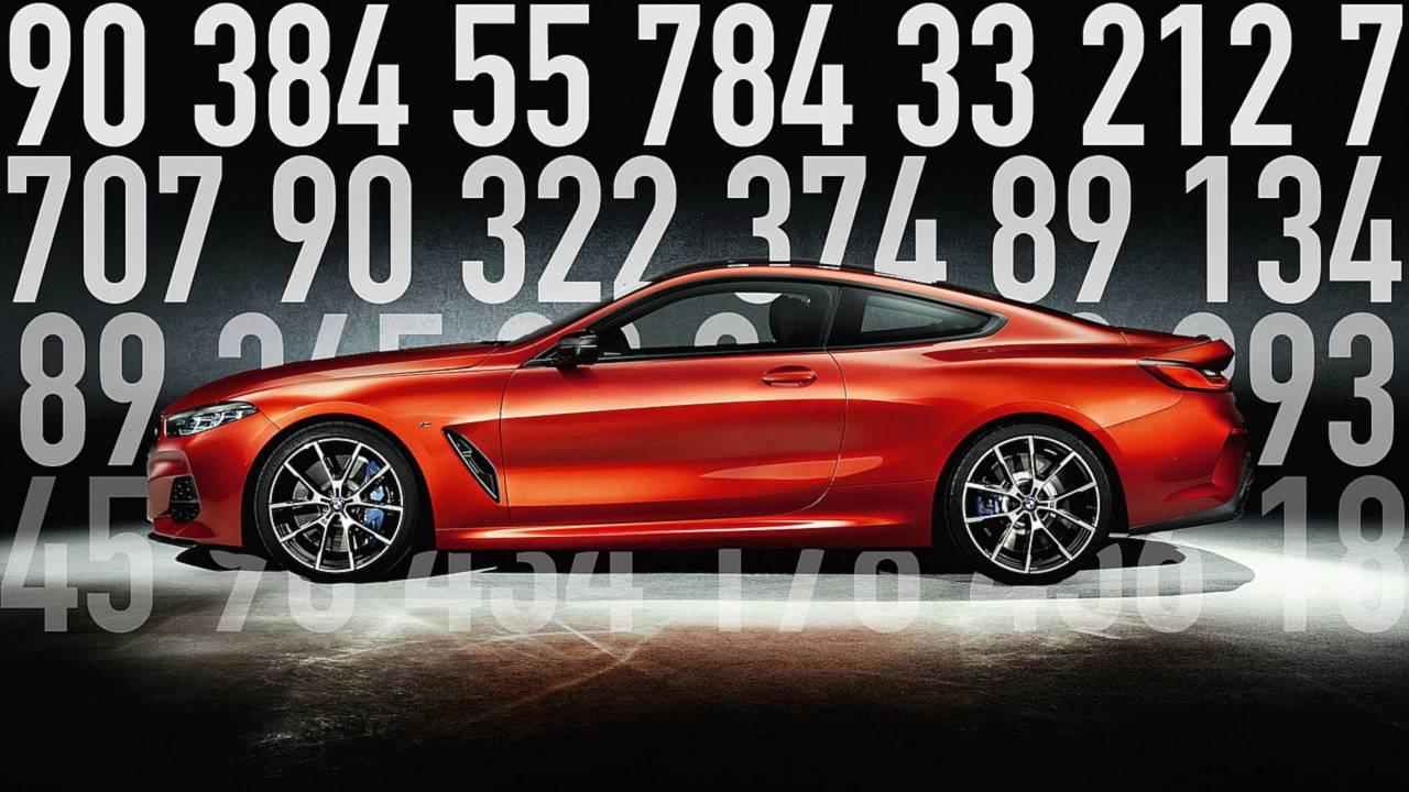 BMW Série 8 nombre
