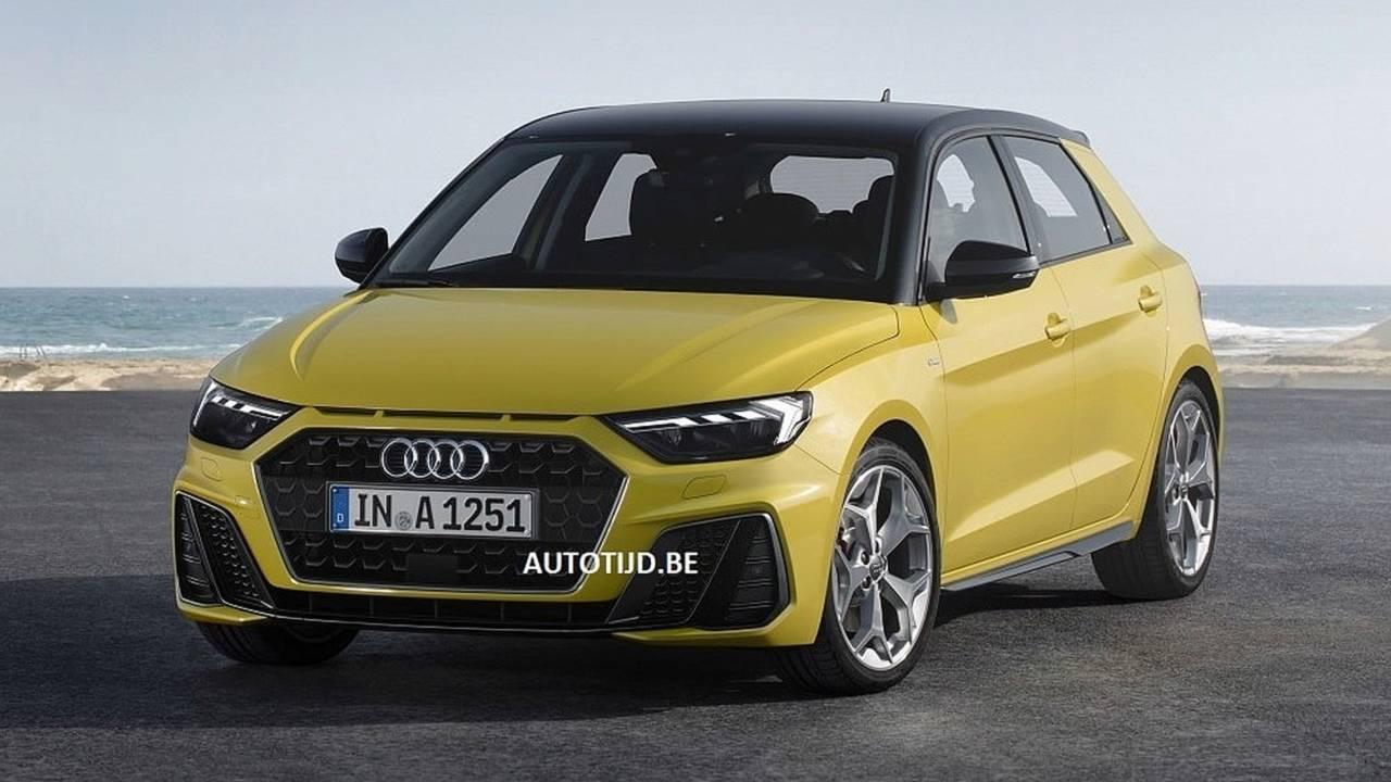 2019 Audi A1 Sportback sızan görseller