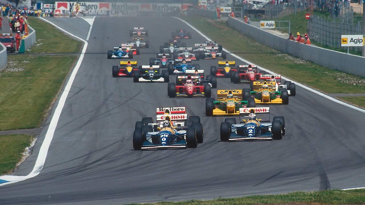 Largada do GP da Espanha