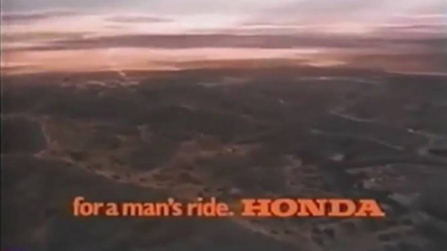 for a man's ride. HONDA - Video
