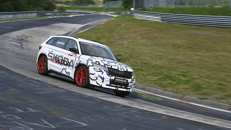 Hivatalosan is a Kodiaq RS lett a leggyorsabb 7-üléses SUV a Nürburgringen