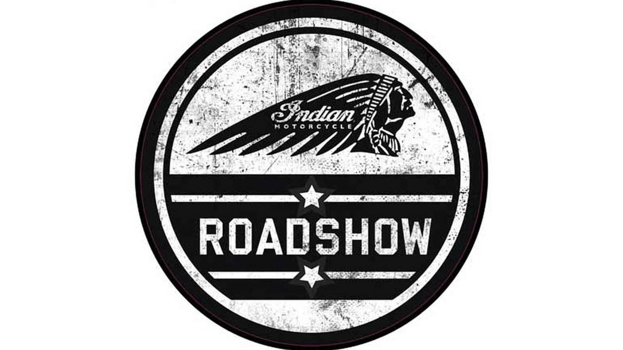 Indian Motorcycle Mounts European Roadshow