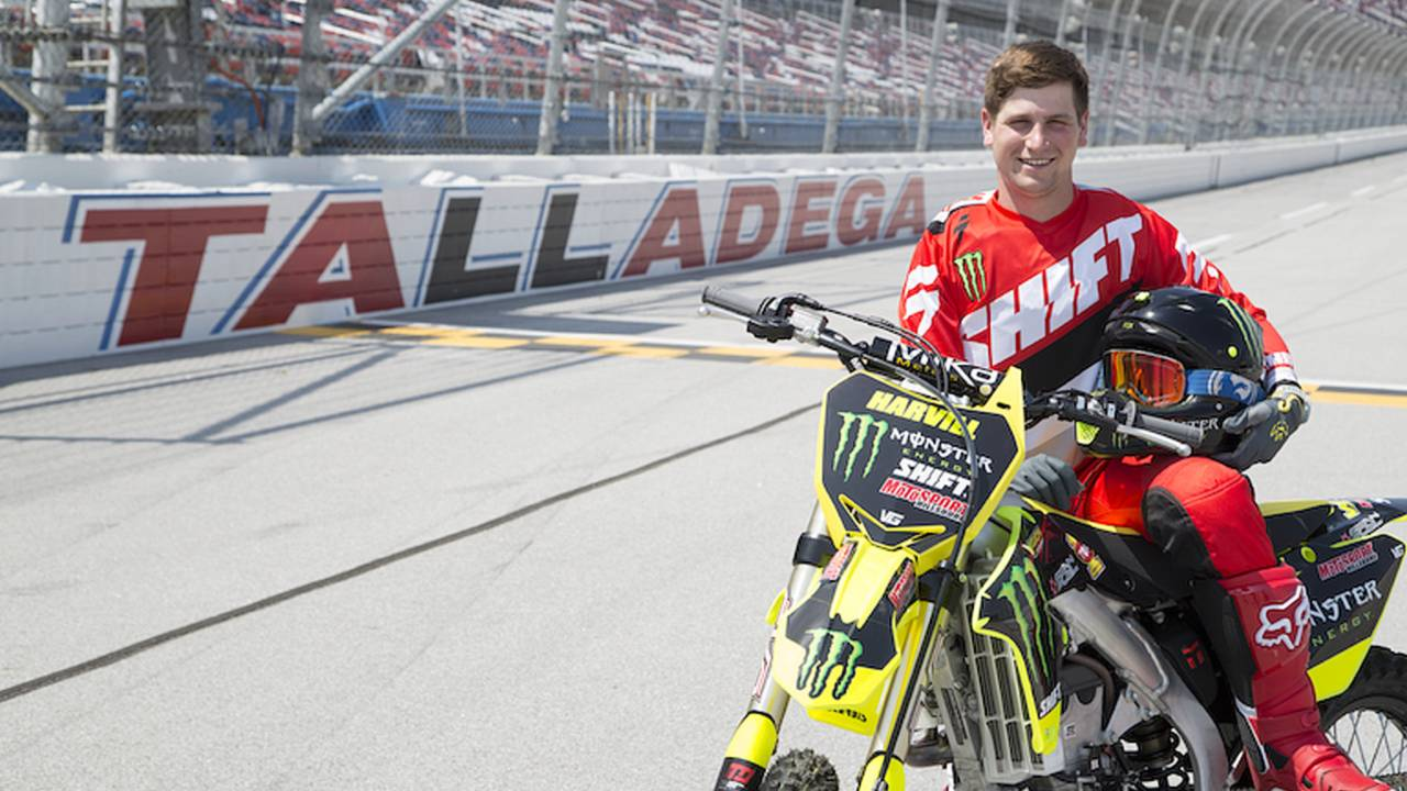 Motorcyclist Plans to Jump 426 Feet at Talladega