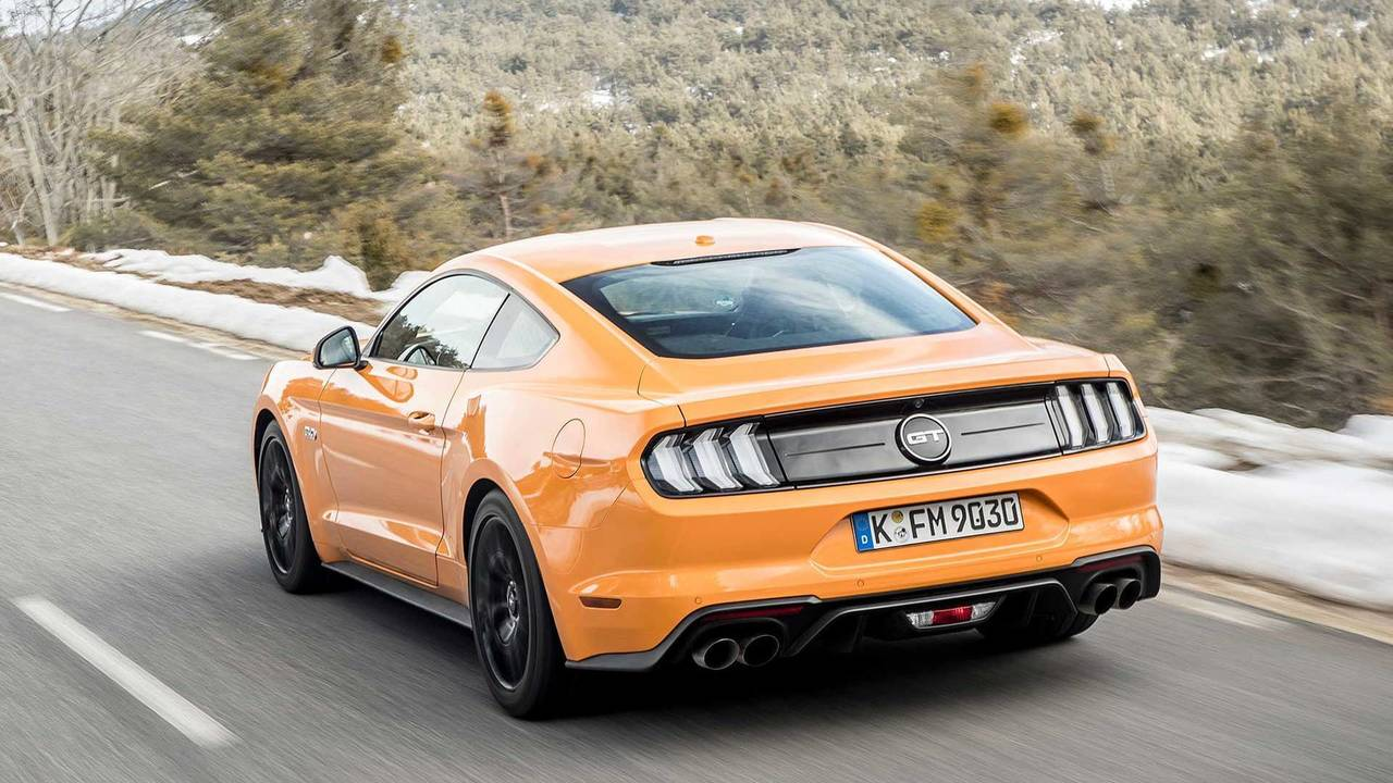 4. Ford Mustang Fastback 2018 - 41.300 euros