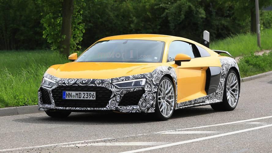 L'Audi R8 restylée est pratiquement prête