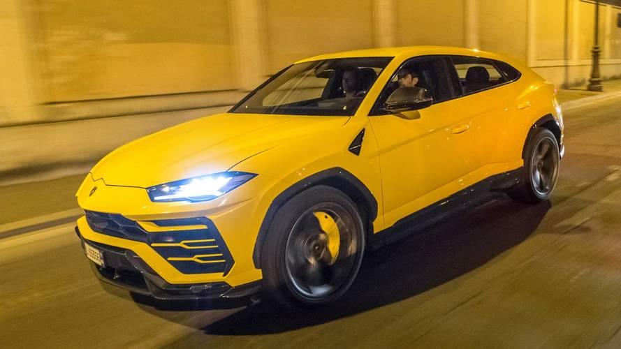 Lamborghini dans une forme olympique