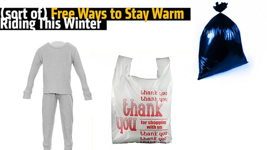 (sort of) Free Ways to Stay Warm, Riding This Winter