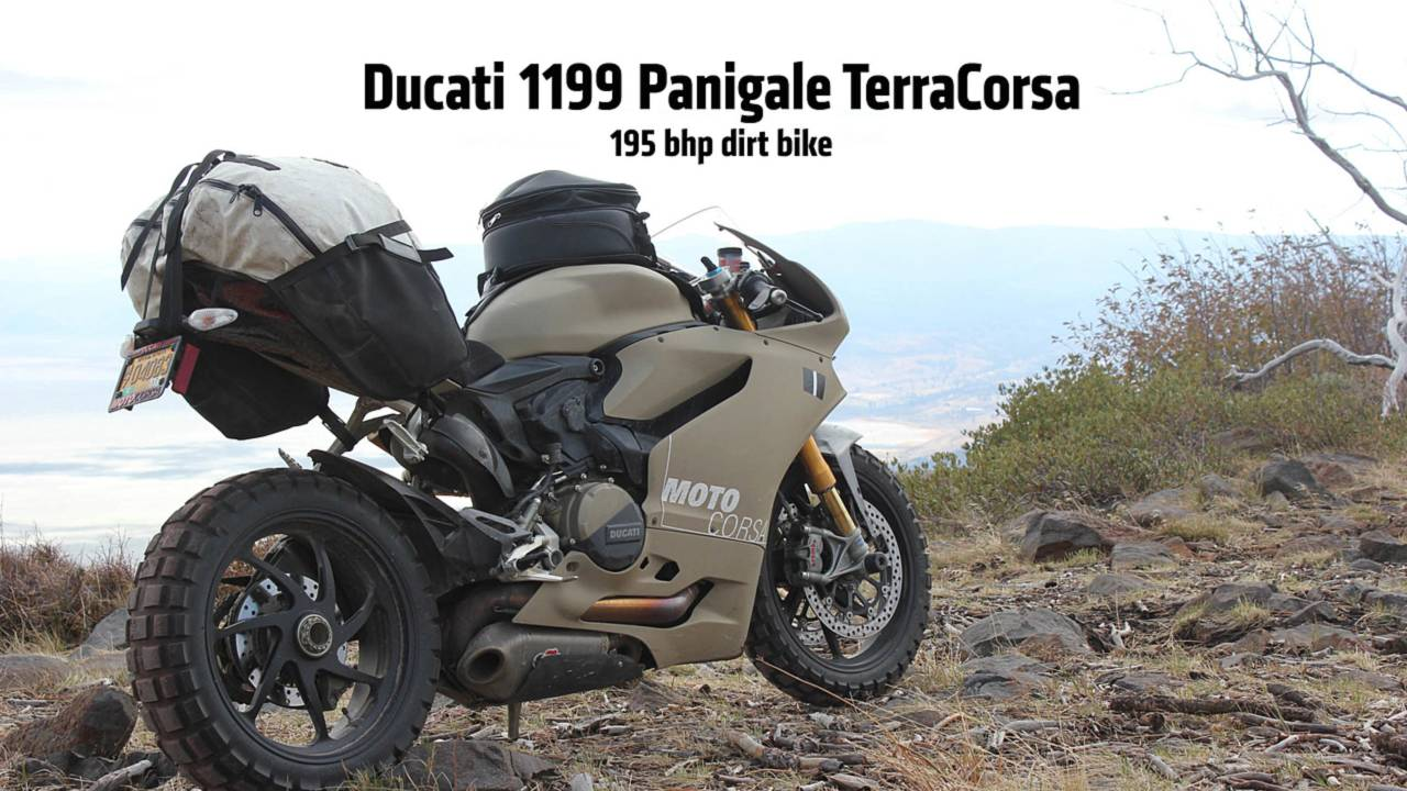 Ducati 1199 Panigale TerraCorsa — Off-Road Superbike Exclusive