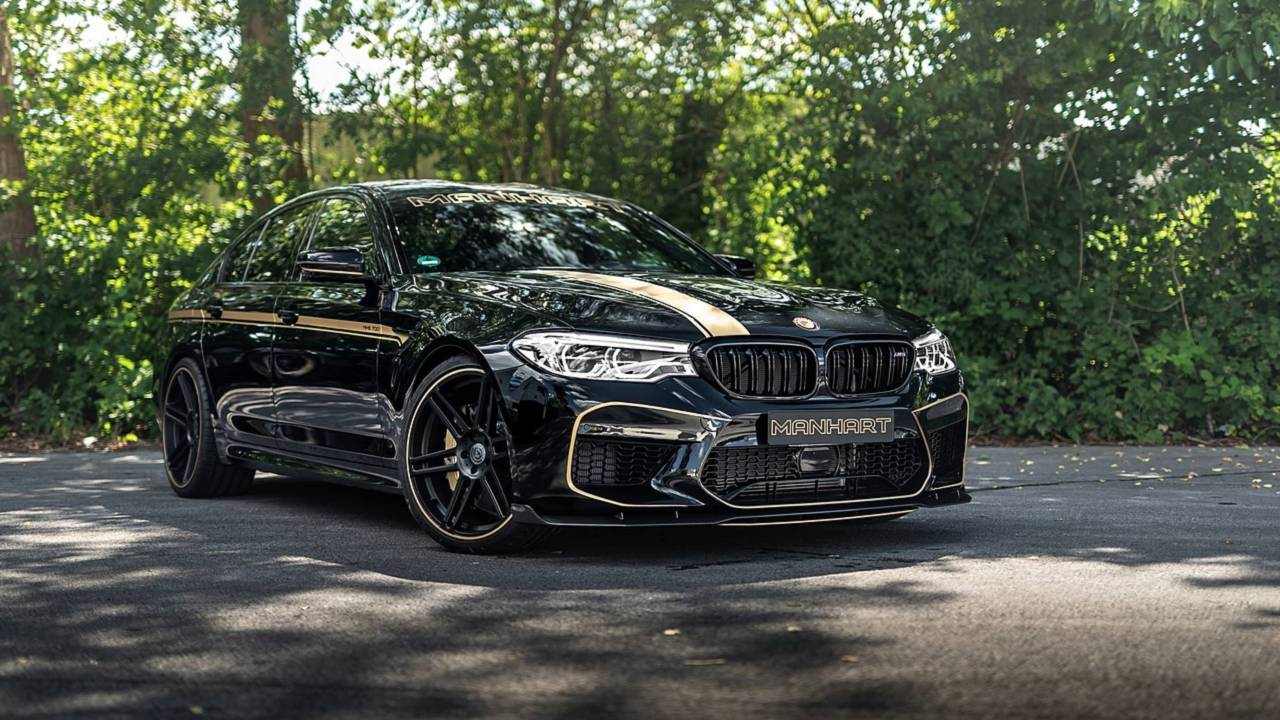 713 Horsepower Bmw M5 By Manhart Sounds As Angry As It Looks