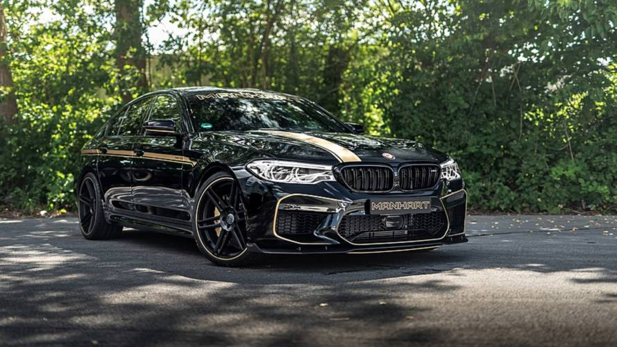 713-Horsepower BMW M5 By Manhart Sounds As Angry As It Looks