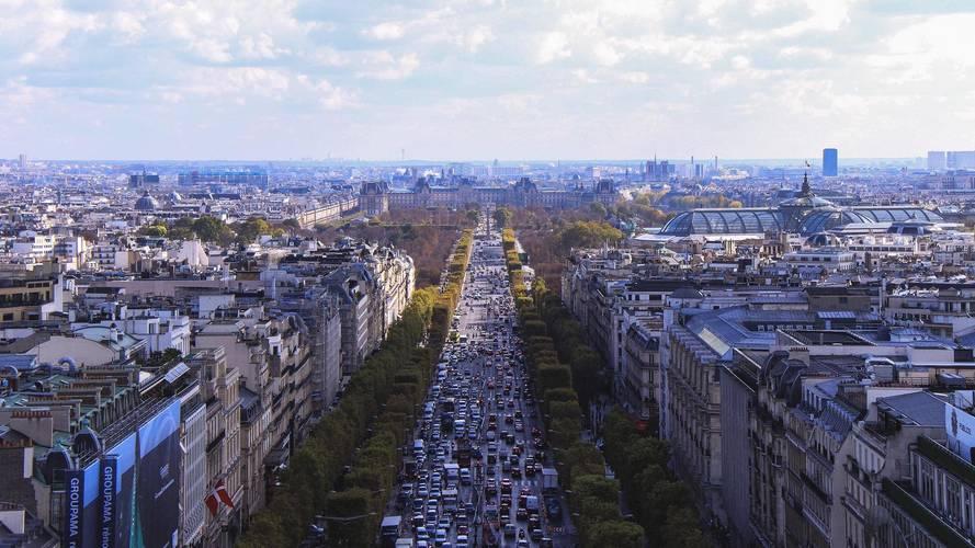 Paris - La journée sans voiture, c'est ce week-end