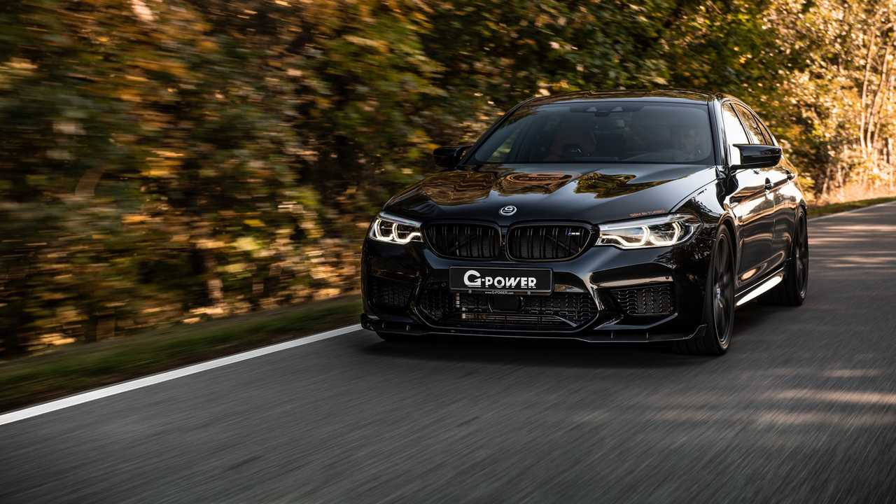 G Power Lives Up To Its Name With 789 Hp Bmw M5