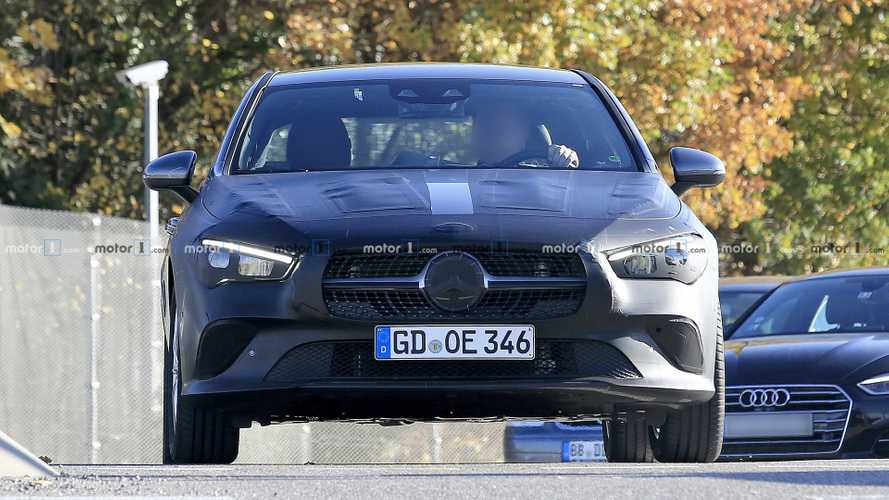 2020 Mercedes CLA new spy shots