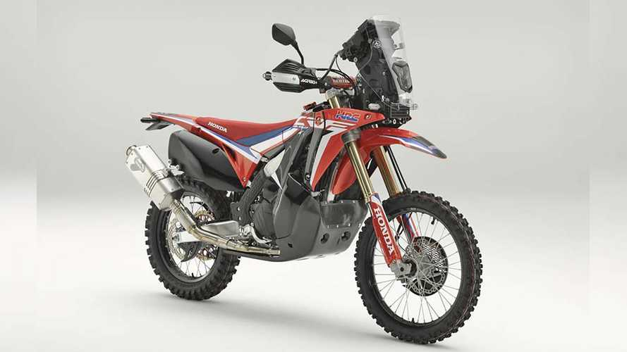 Honda Shows Dakar-Inspired CRF450L Rally Concept