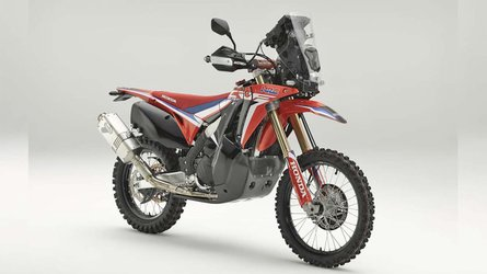 Honda Shows Dakar-Inspired CRF450L Rally Concept